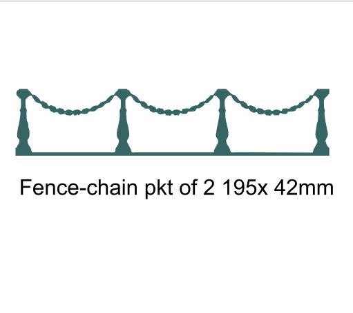 Fence with chain